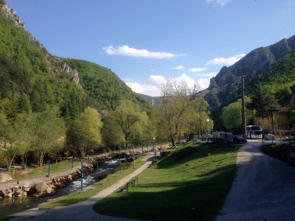 Отчет о путешествии в Македонию в Скопье