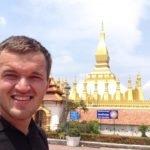 Отчет о путешествии в Лаос. Вьентьян  09.05.2017 (119-Й ДЕНЬ ПУТИ) С днем победы!