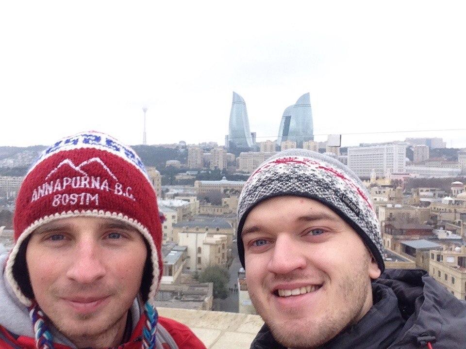 Отчет о путешествии в Азербайджан в Баку