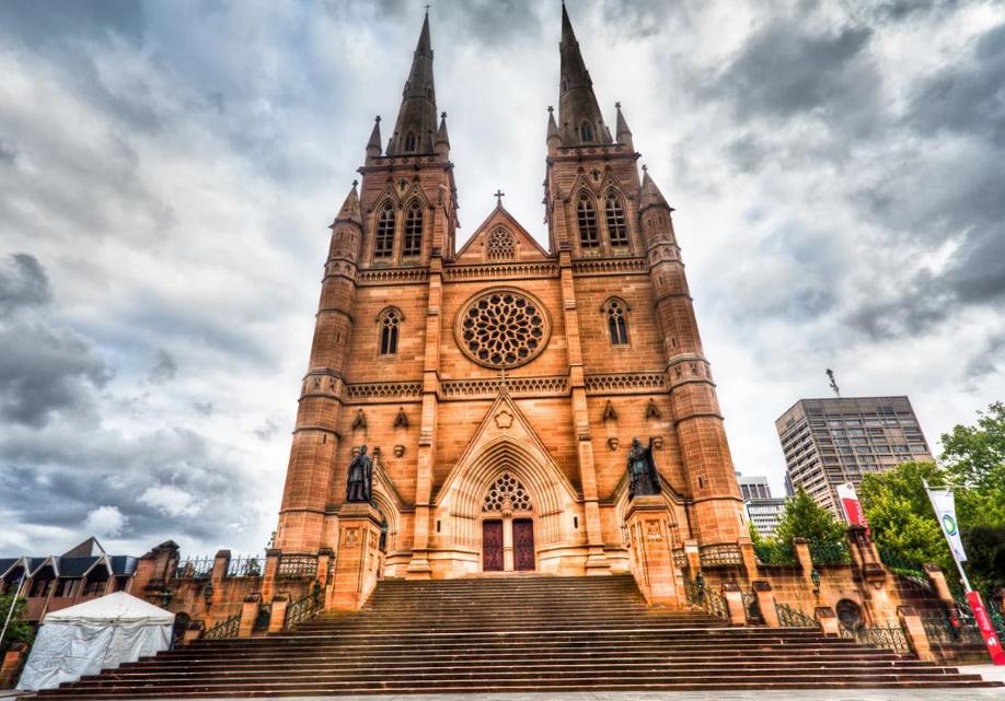 Что посмотреть в Сиднее? Собор Девы Марии