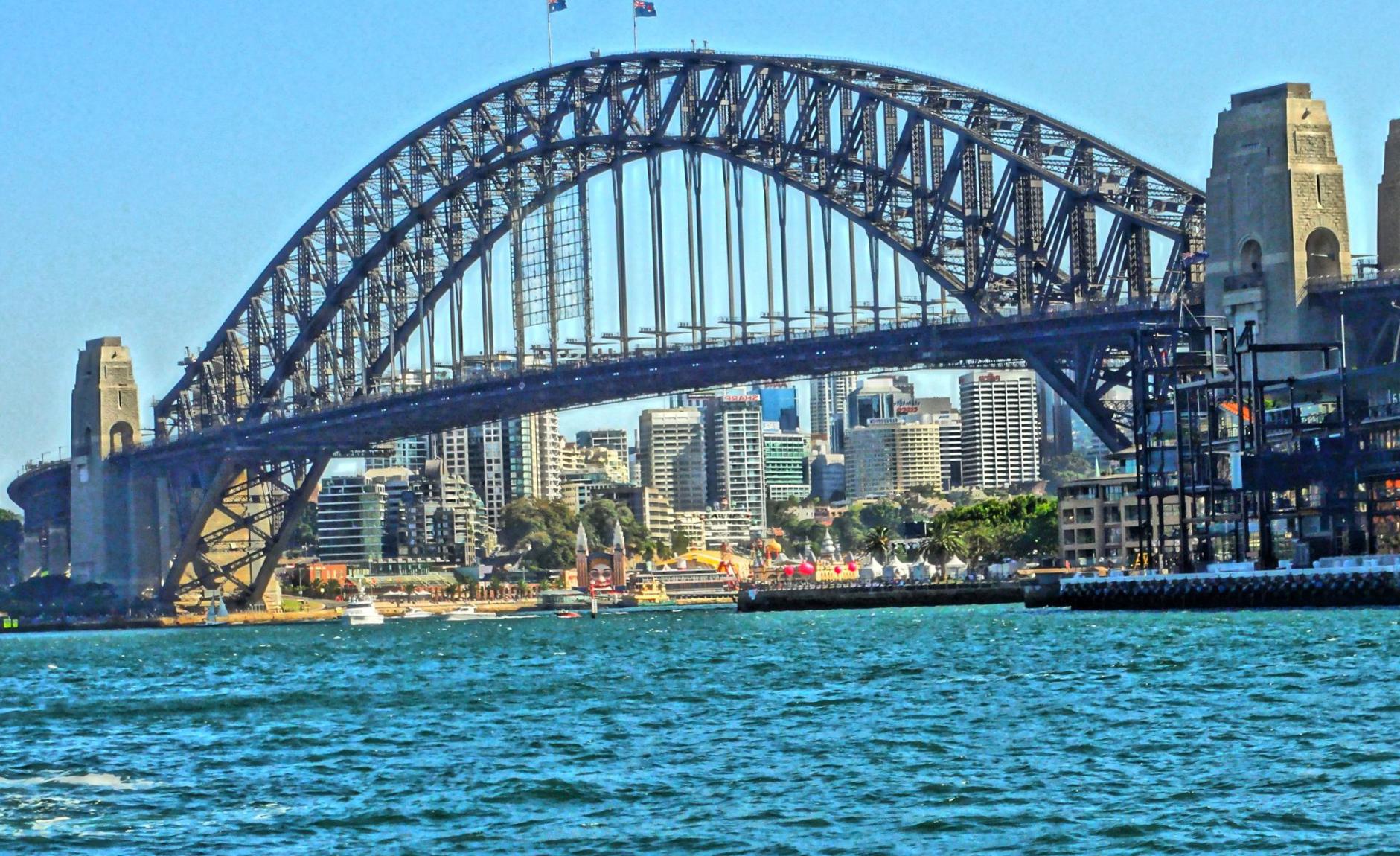 Что посмотреть в Сиднее? Мост Harbor Bridge