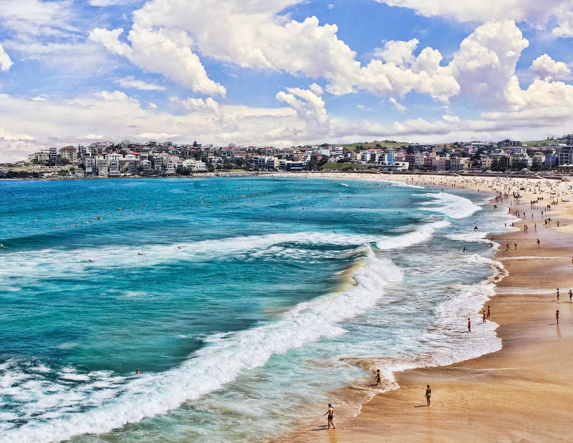Что посмотреть в Сиднее? Пляж Bondi Beach