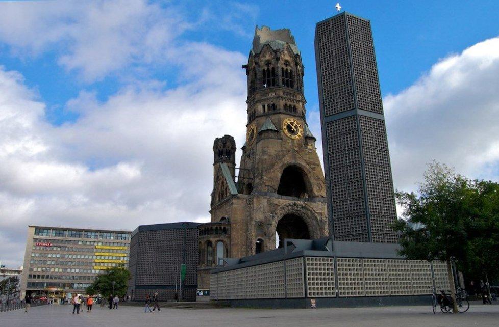 Что посмотреть в Берлине? Церковь памяти Вильгельма