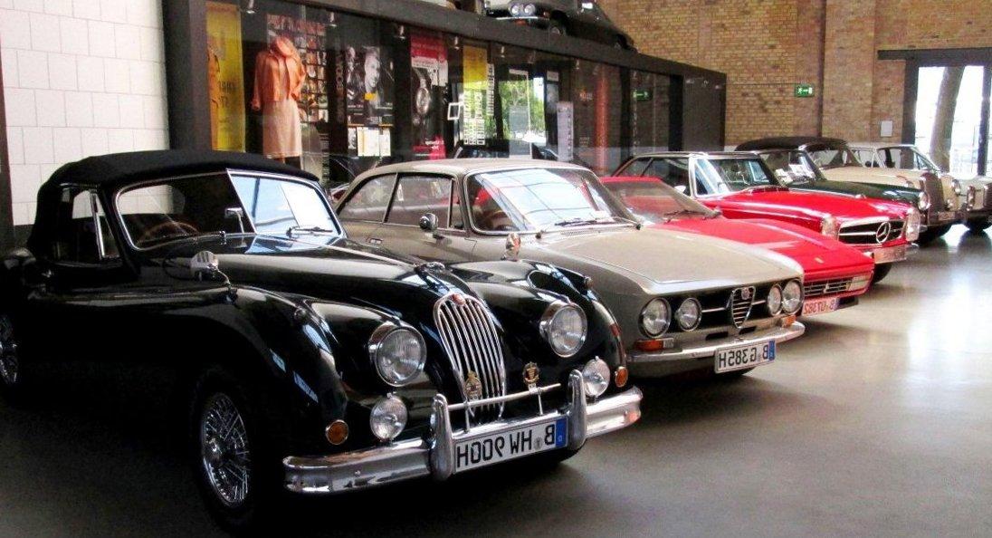 Что посмотреть в Берлине? Музей раритетных автомобилей Classic Remise Berlin