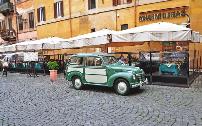 Что посмотреть в Риме? Carlo Menta