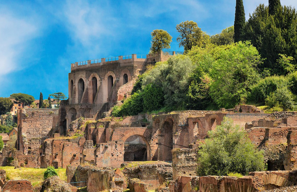 Что посмотреть в Риме? Холм Палантин