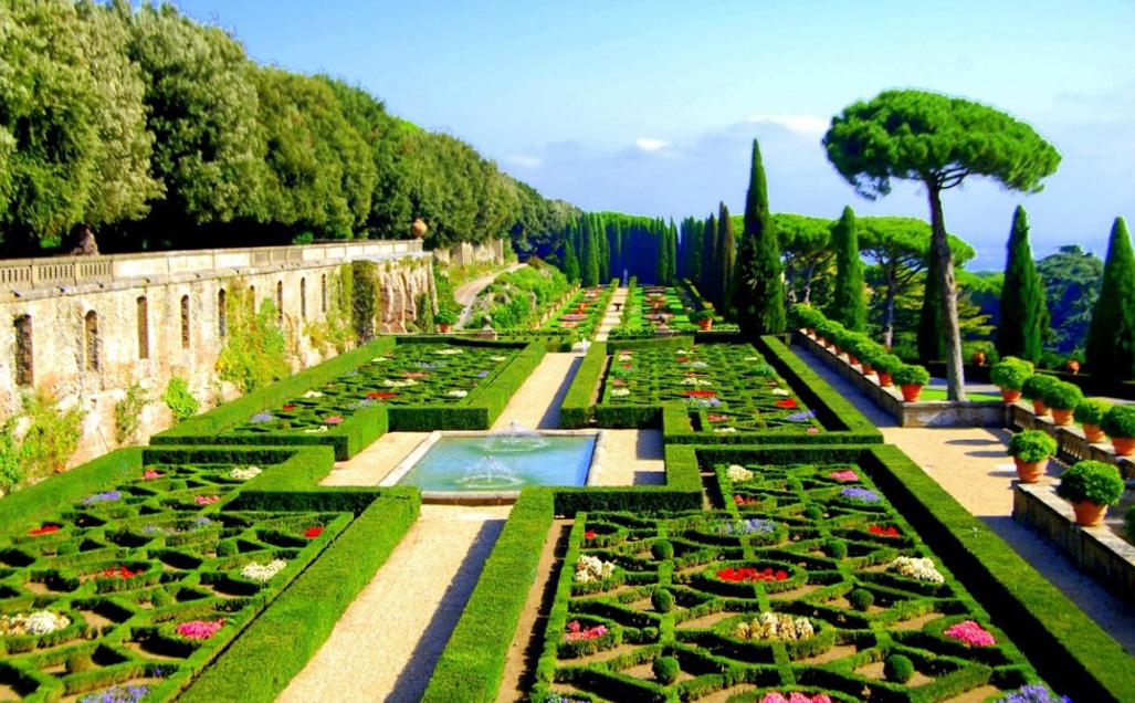 Что посмотреть в Риме? Giardini Vatikani