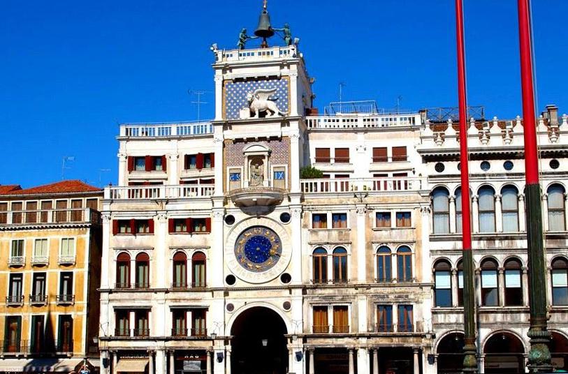 Что посмотреть в Венеции? Часовая башня Святого Марка