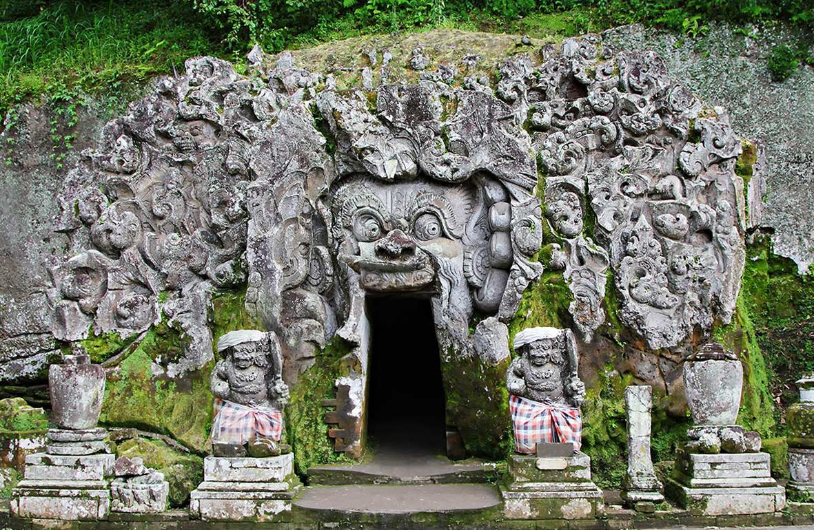 Что посмотреть на Бали? Слоновья пещера — Гоа Гаджа