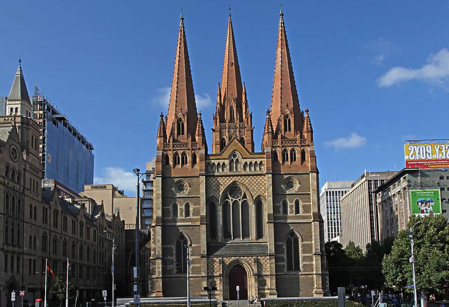 Что посмотреть в Мельбурне? Собор святого Павла