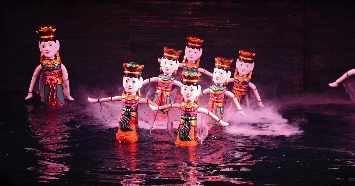 Что посмотреть в Хошимине? Кукольный театр на воде