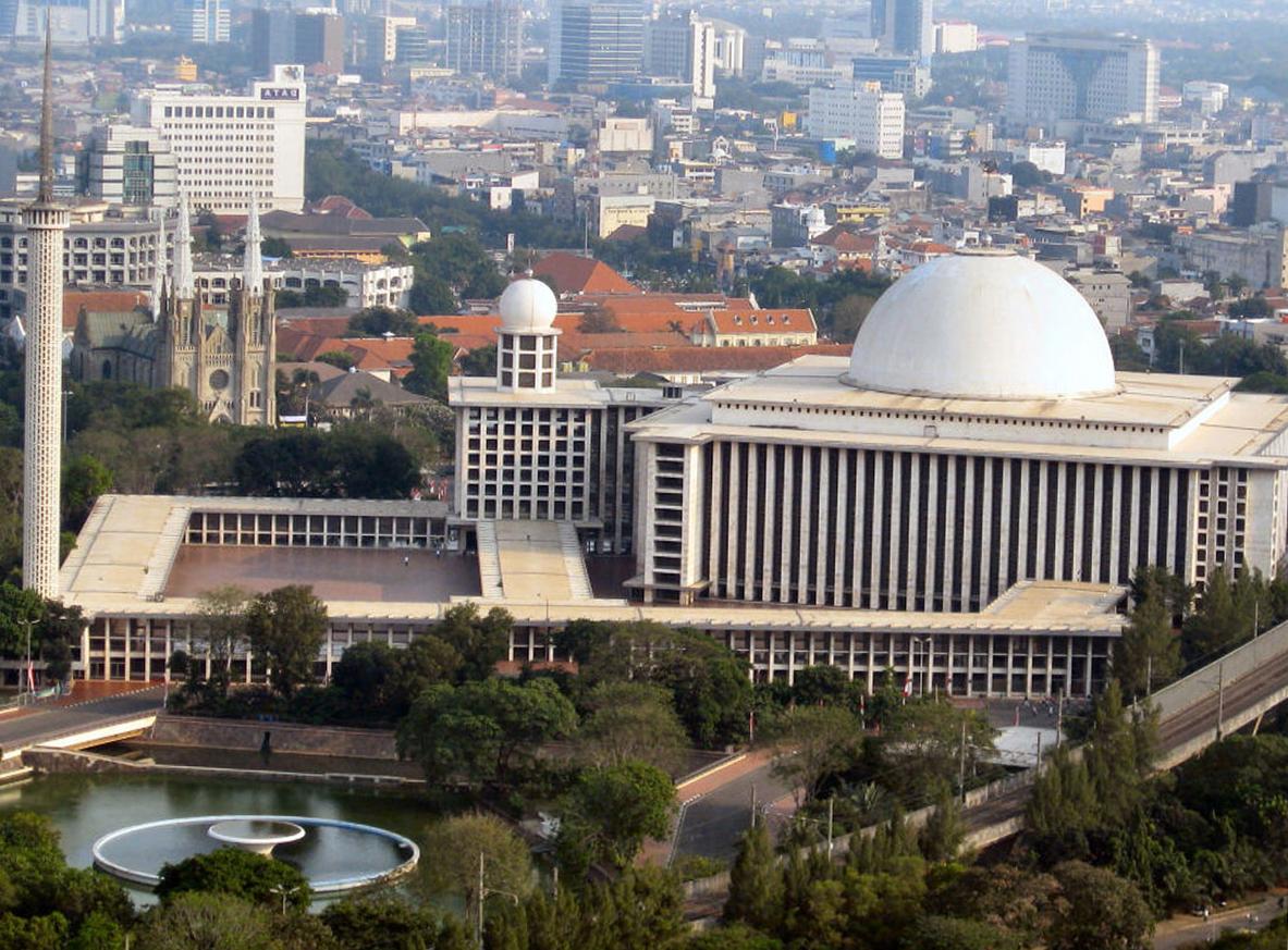 Что посмотреть в Джакарте? Мечеть Истикляль