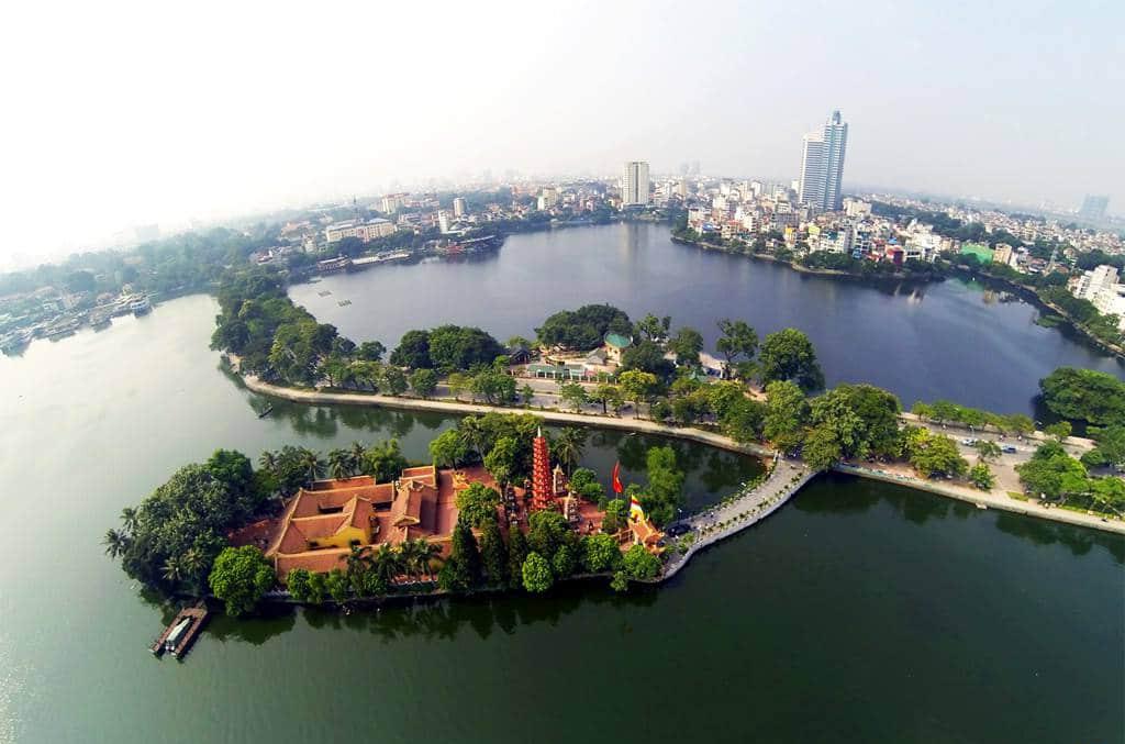 Что посмотреть в Ханое? Озеро Тэй