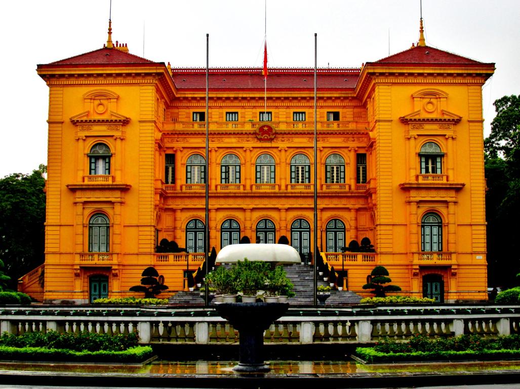 Что посмотреть в Ханое? Президентский дворец