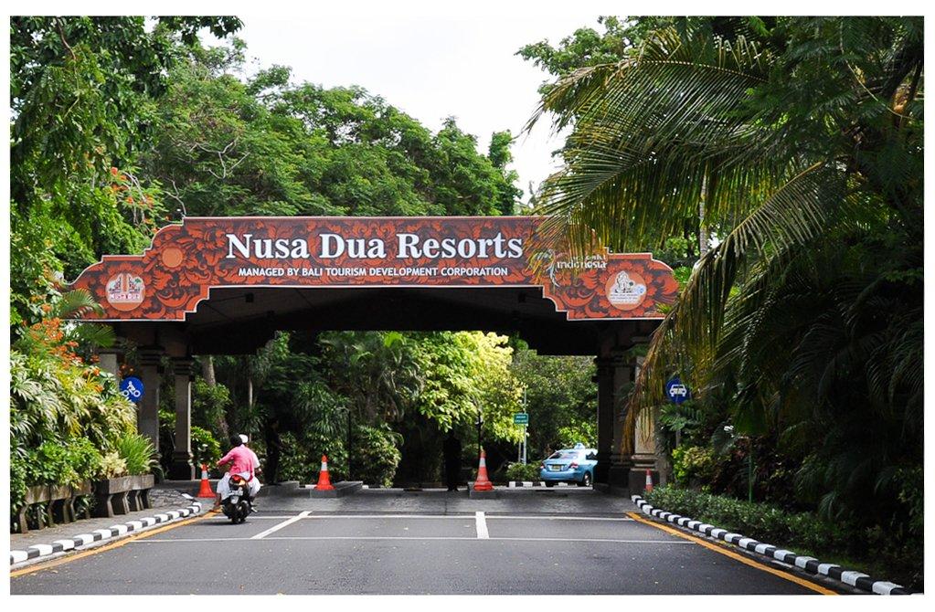 Что посмотреть в Нуса Дуа? Блок-пост в Нуса Дуа