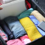 Как складывать одежду в рюкзак?