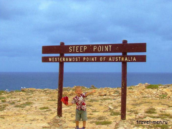 Крайние точки Австралии
