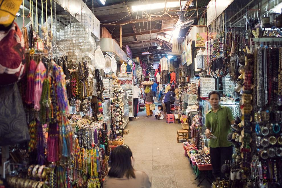 Что посмотреть в Пномпене? «Русский рынок»