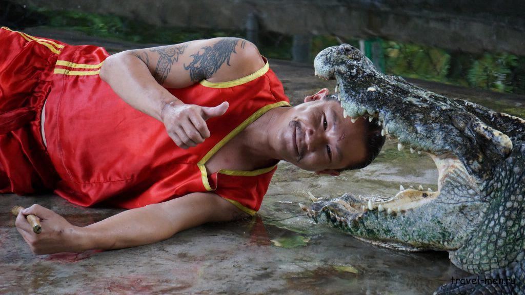 Что посмотреть на Самуи? Крокодилья ферма