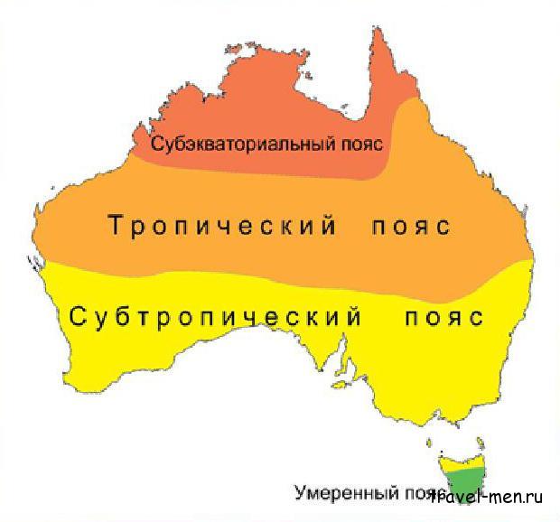 Австралия в январе