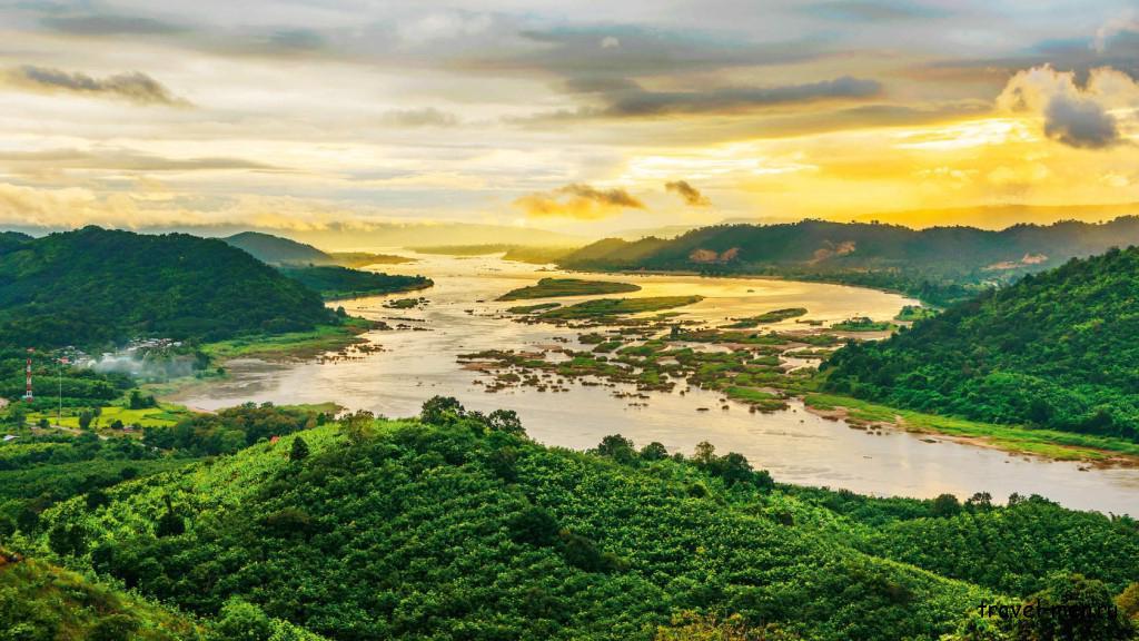 Что посмотреть в Пномпене? Река Меконг