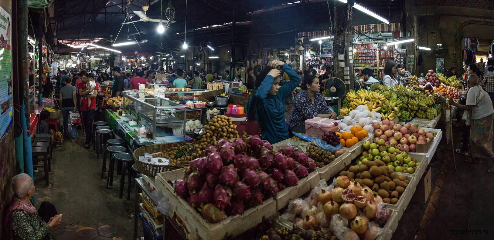 Что посмотреть в Пномпене? Phsar Chas - Пшар Час