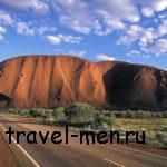 Австралийская скала Улуру – чудо, заслуживающее внимания