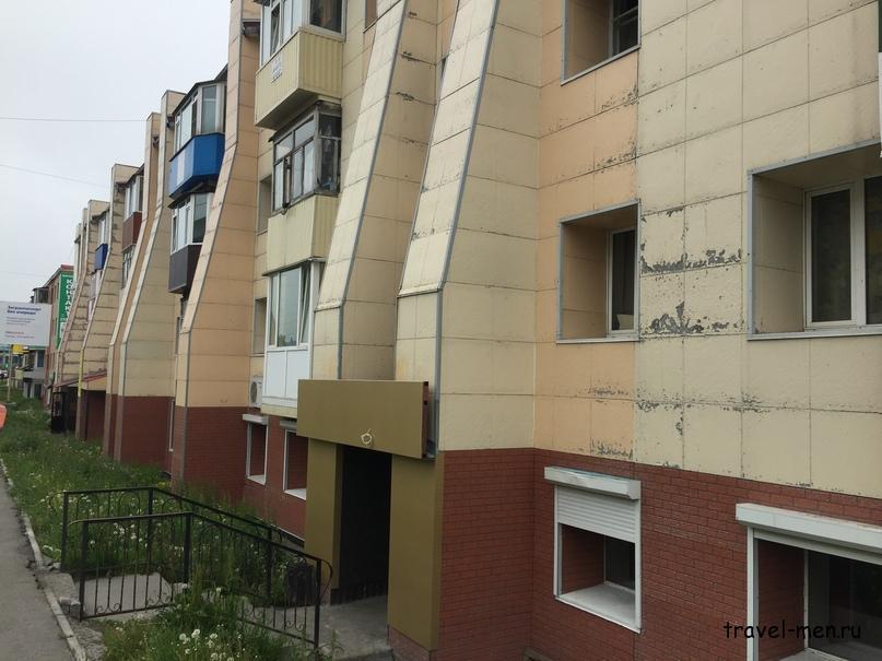 Петропавловск. Дом усиленный против землетрясения