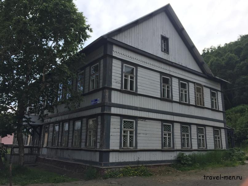 Петропавловск. Исторические здания
