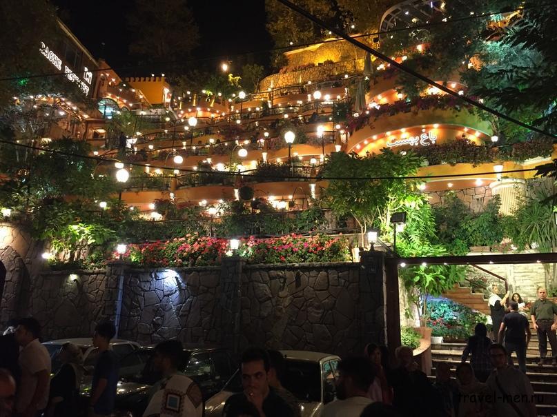 Путешествие в Иран. Красивые рестораны