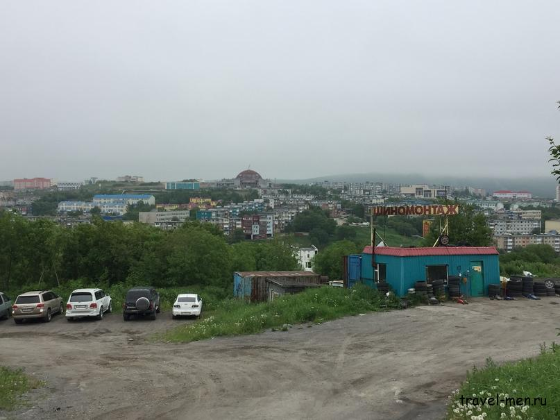 Петропавловск-Камчатский. Петропавловск расположен на сопках