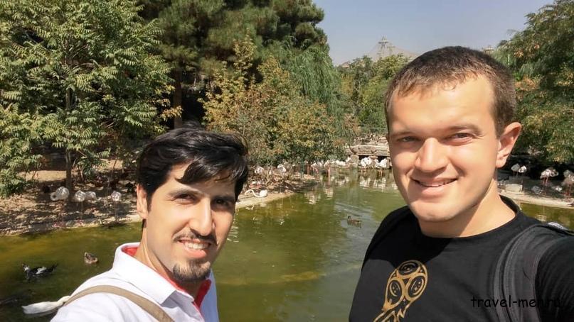 Путешествие в Иран. Сад птиц 2