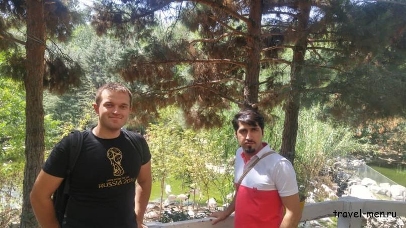 Путешествие в Иран. Сад птиц