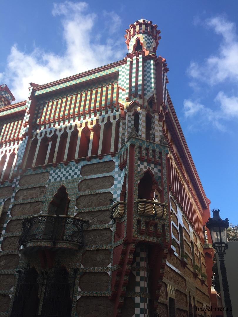 7.12.2018 Барселона. Музеи Дом Висенс