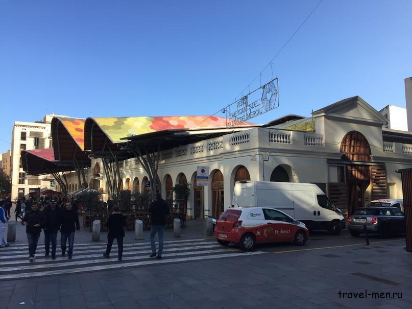 7.12.2018 Барселона. Музеи Рынок Mercat de Santa Caterina