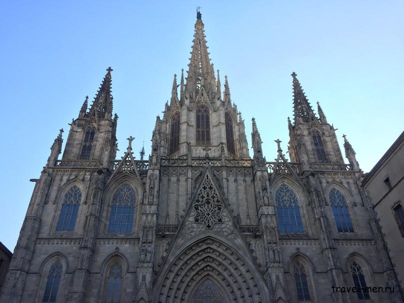 7.12.2018 Барселона. Музеи Собор Святого Креста и Святой Евлалии