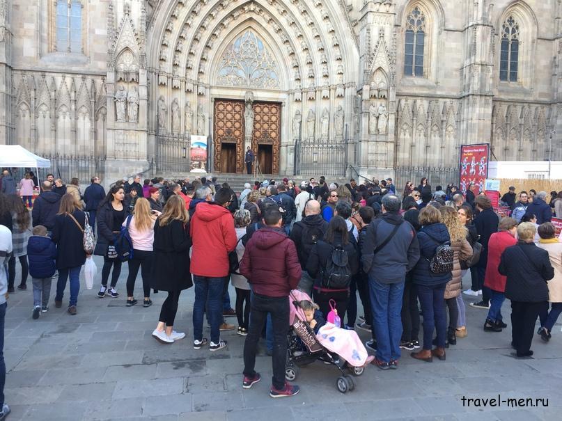 7.12.2018 Барселона. Музеи Собор Святого Креста и Святой Евлалии2