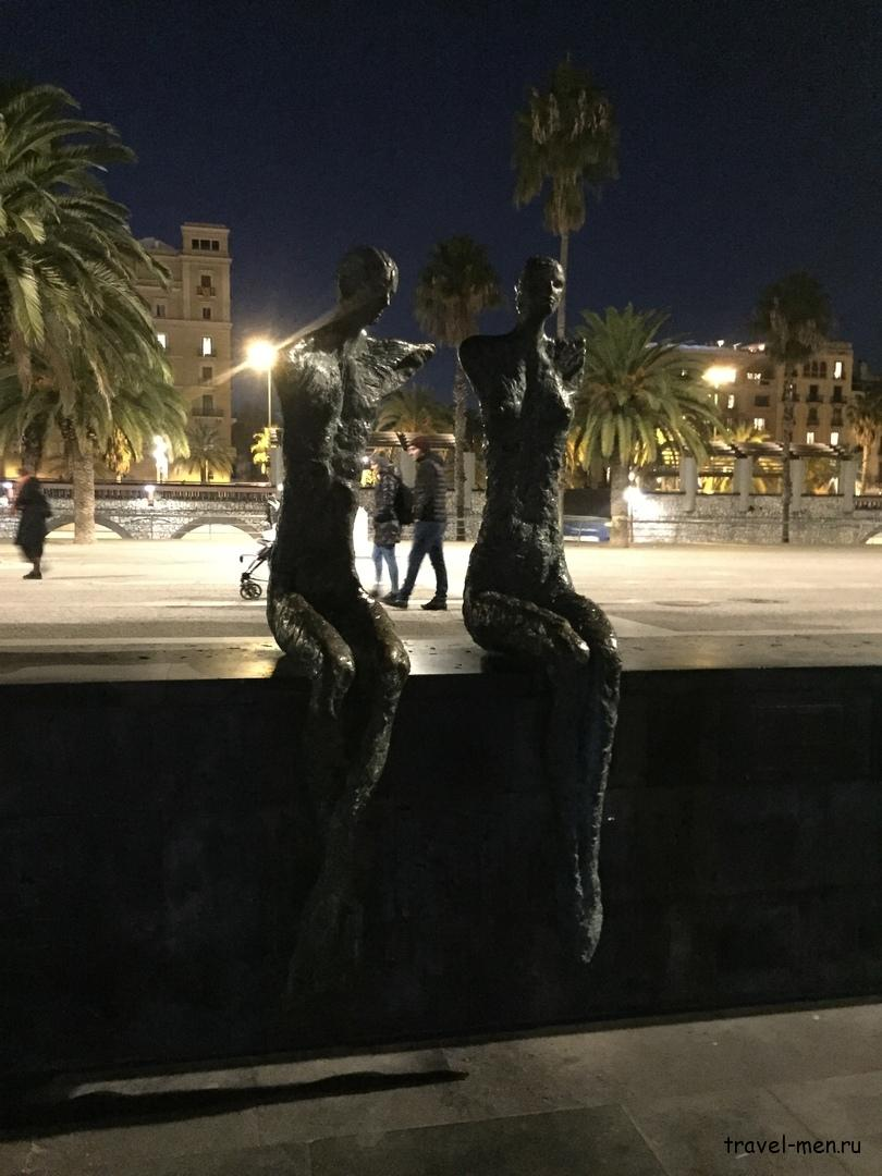 7.12.2018 Барселона. Музеи Уличные скульптуры
