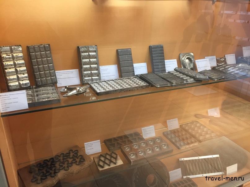 7.12.2018 Барселона. Музеи Формы для шоколадок